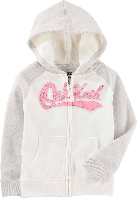 OshKosh B'Gosh Max 84% OFF Girls' Louisville-Jefferson County Mall French Hooded Jacket Terry
