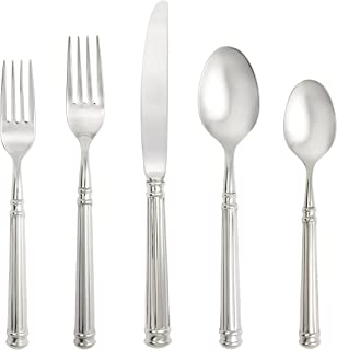 Fortessa Piece Nyssa 18/10 Stainless Steel Hollow Handle Flatware 20 Piece Place Setting, Service for 4