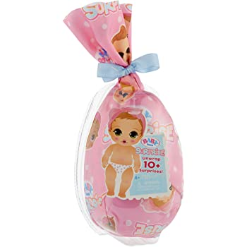 Baby Born Surprise Collectible Baby Dolls with Color Change Diaper, Multicolor