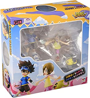 Megahouse Taichi & Hikari with Digimon GEM Series Figure