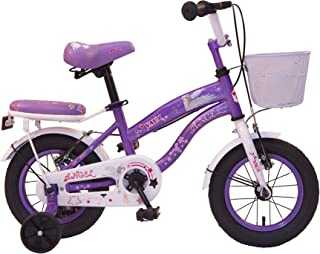 """Vaux Angel 12T Kids Bicycle for Girls, Ideal for Cyclist with Height 2'8""""-€"""" 3'3"""""""
