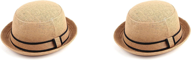 Pop Fashionwear Women's Bowler In a popularity Fashionable Straw Summer Hat 97 Fedora Spring