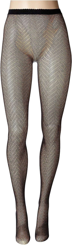 Natori Womens Herringbone Net Tights