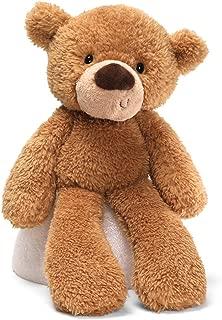 GUND Fuzzy Teddy Bear Stuffed Animal Plush, Beige, 13.5