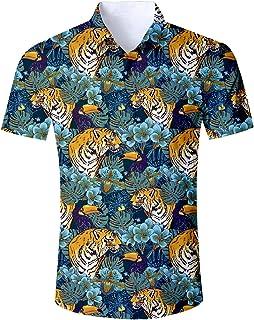 Goodstoworld Camisa Hawaiana para Hombre Mujer Casual Manga Corta Camisas Playa Verano Unisex 3D Estampada Funny Hawaii Sh...