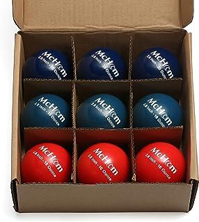 McHom Weighted Baseball/Softball for Batting Hitting Pitching Training | PVC Shell | 12oz to 20 oz | 9pcs