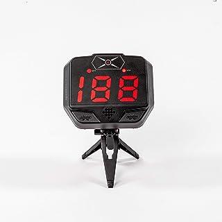HockeyShot Extreme Radar de Hockey 2.0, Pistola de Radar de Velocidad para Disparos más Fuertes, Gran Pantalla LED con Med...