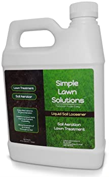 Liquid Aerating Soil Loosener- Aerator Soil Conditioner- No Mechanical or Core Aeration- Simple Lawn Solutions- Any G...
