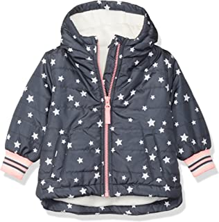 OshKosh B'Gosh Baby Girls Midweight Fleece-Lined Jacket