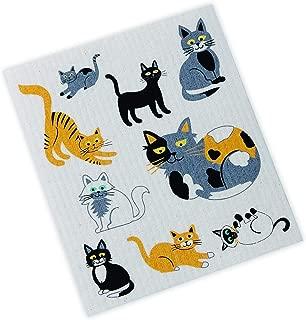 DII Cats Swedish Dishcloth, Multi
