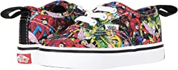 Vans X Marvel® Authentic Elastic Lace (Infant/Toddler)