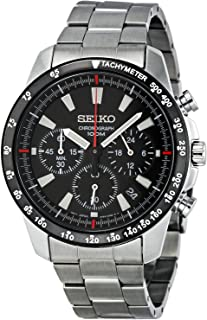 SSB031 Men's Chronograph Stainless Steel Case Watch