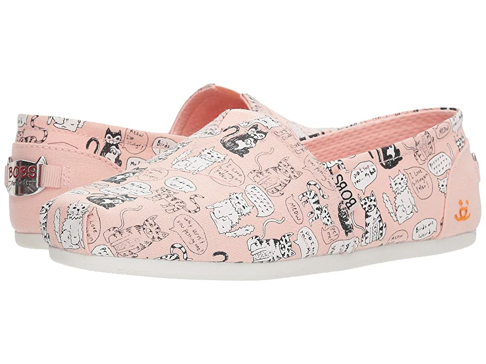 BOBS from SKECHERS Bobs Plush Quote Me (Light Pink) Women