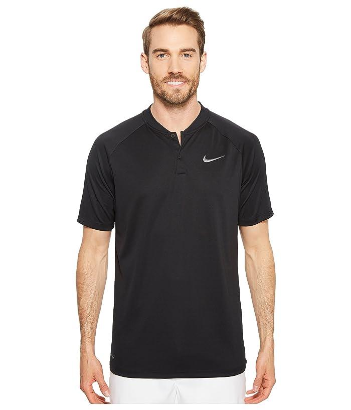 Nike Golf Victory Blade Polo (Black/Black/White) Men