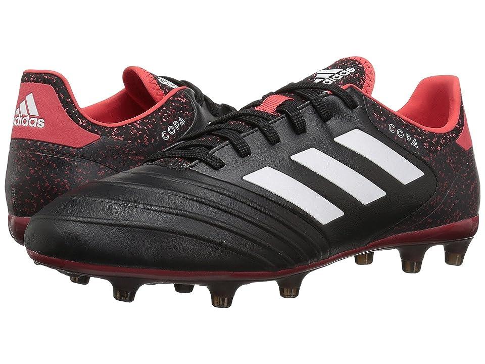 adidas Copa 18.2 FG (Black/White/Real Coral) Men