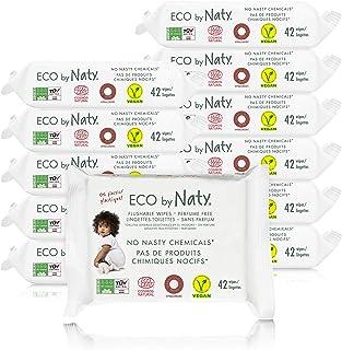 Eco by Naty, Desechables en el Inodoro, 504 piezas (12x42