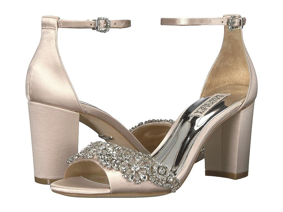 Badgley Mischka Hines (Light Pink Satin) High Heels