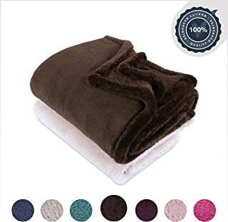 Berkshire Blanket Extra-Fluffy Super Soft Warm Cozy Luxury Blanket Throw