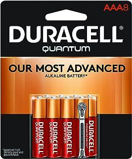 Duracell – pilhas alcalinas Quantum AAA – longa duração, Quantum, Quantum, 8 Count
