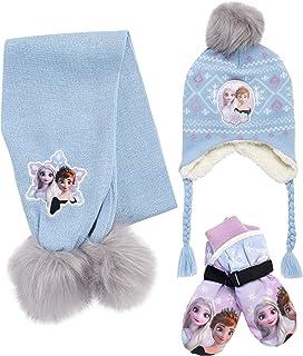 ست دستکش برفی عایق دخترانه دیزنی - مینی موس یا کلاه زمستانی منجمد ، روسری و دستکش یا دستکش (کودک نو پا / بچه کوچک)