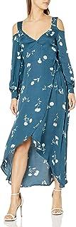 MINKPINK womens Falling Blooms Wrap Midi Dress Casual Dress