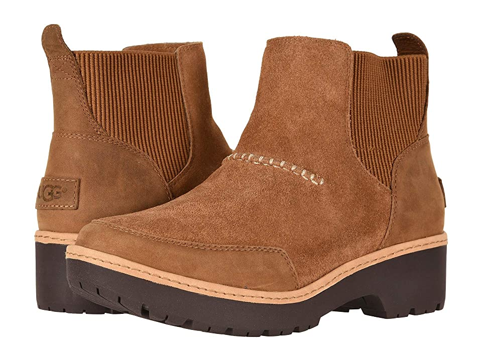 UGG Kress Ankle Boot (Chestnut) Women