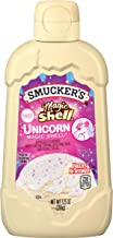 Smucker's Magic Shell Unicorn White Cupcake Flavored Topping, 7.25 Ounces (Pack of 8)
