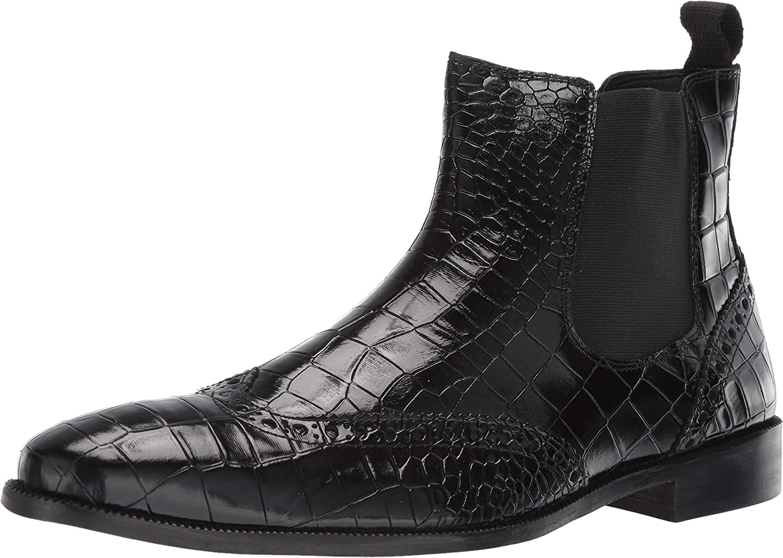 Stacy Adams Adams Adams herr Frontera Croc Winghtip Chelsea Ankle Boot Chelsea Boot  officiellt godkännande