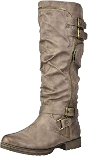 Fergalicious Women's Delta Knee High Boot, Grey, 7