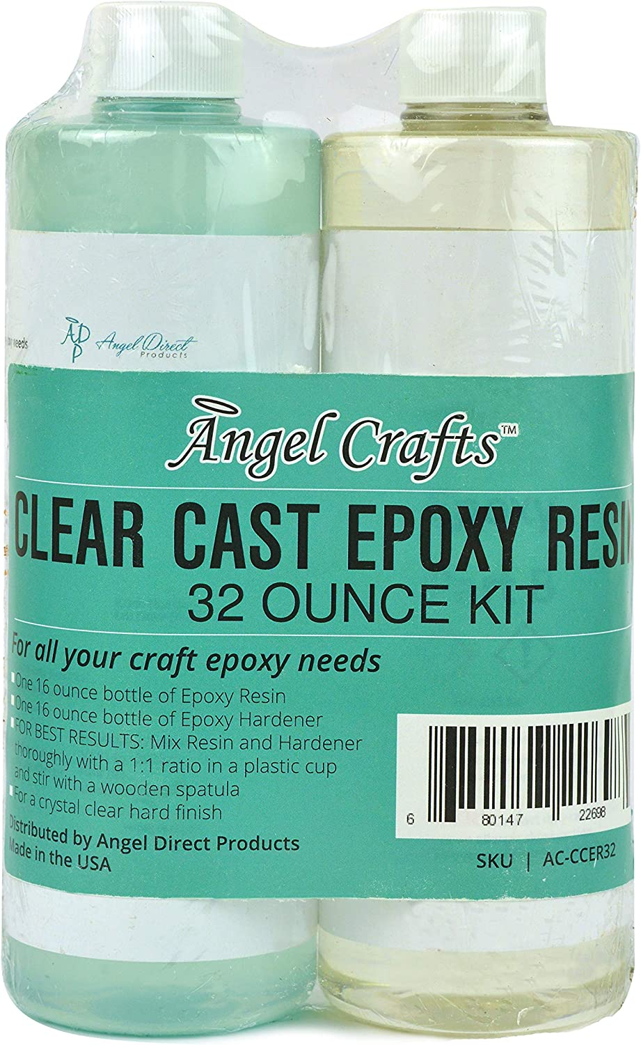 Max 51% OFF Angel Crafts Clear Max 44% OFF Casting Epoxy Resin and Cle Kit: Hardener Mix