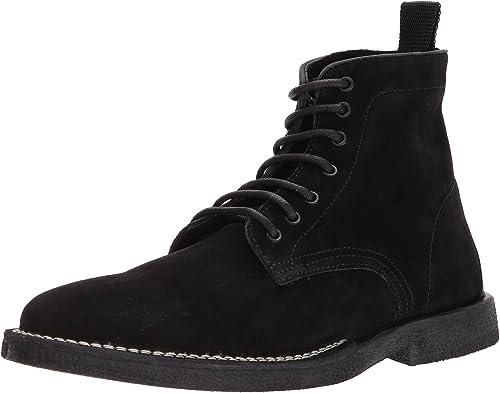 Steve Madden Men& 039;s Laramee Winter Stiefel, schwarz Suede, 11 Größe Conversion M US