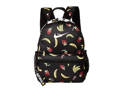 Nike Kids Brasilia JDI Backpack (Little Kids/Big Kids) (Black/Black/White) Backpack Bags