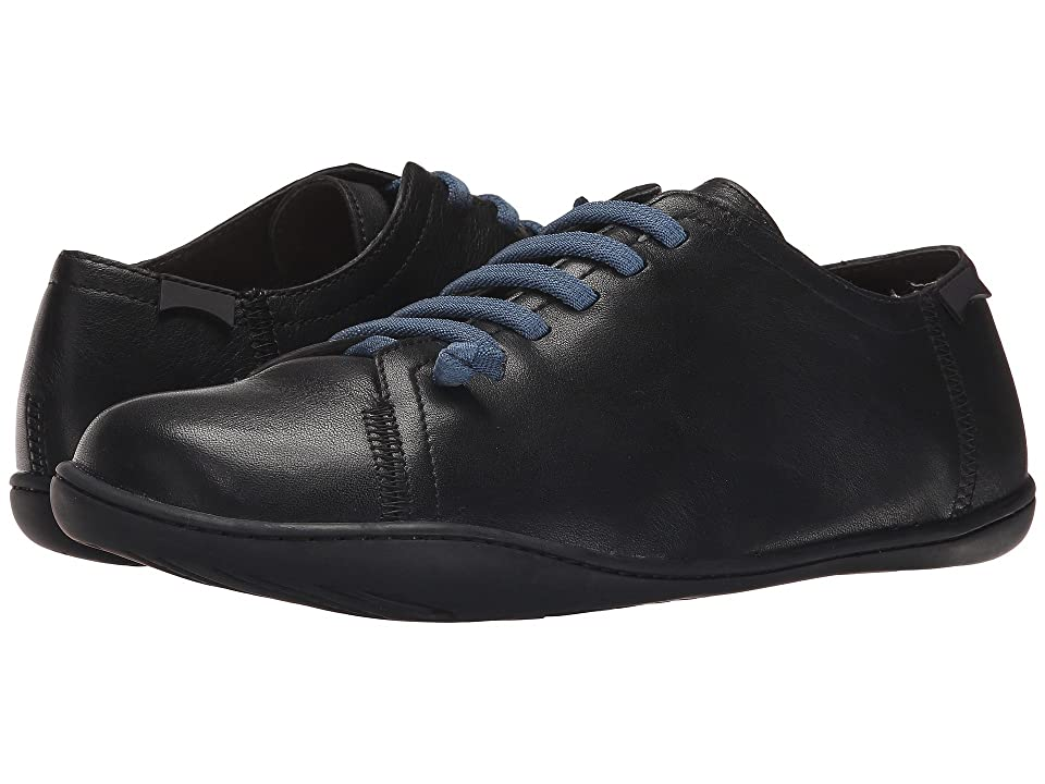 Camper Peu Cami - Lo-17665 (Black Leather) Men's Lace up casual Shoes