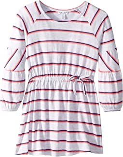 Heather Stripe Dress (Toddler/Little Kids)