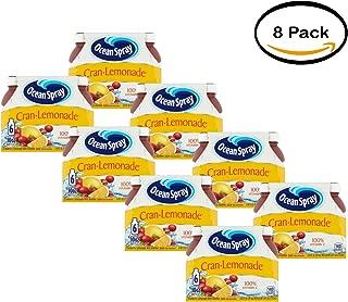 PACK OF 8 - Ocean Spray Fruit Juice, Cran-Lemonade, 10 Fl Oz, 6 Count