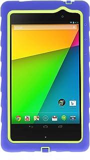 Nexus 7 V2 - Drop Tech - Ruggedized Case - Royal Blue - Lime