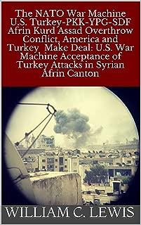 The NATO War Machine U.S. Turkey-PKK-YPG-SDF Afrin Kurd Assad Overthrow Conflict, America and Turkey Make Deal: U.S. War Machine Acceptance of Turkey Attacks in Syrian Afrin Canton