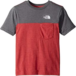 The North Face Kids Tri-Blend Pocket Tee (Little Kids/Big Kids)