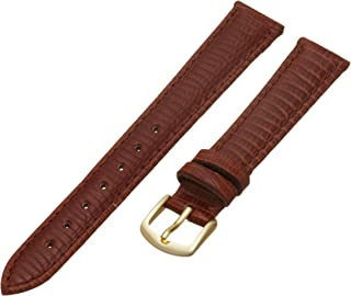 Hadley-Roma Women's 14mm Watch Strap, Color:Brown (Model: LSL716RB 140)