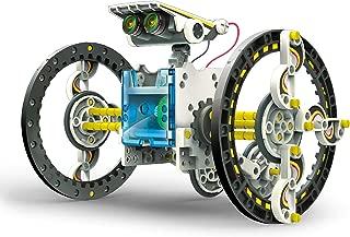 Elenco Teach Tech SolarBot.14, Transforming Solar Robot Kit, STEM Learning Toys for Kids 10+