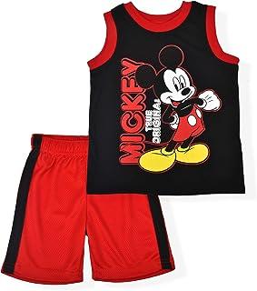Mickey Mouse Original Mesh Short Set with Sleeveless Shirt