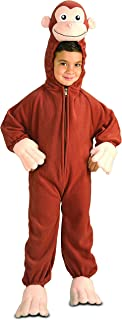 Rubie's Costume Curious George Fleece Child's Costume, Small, One Color