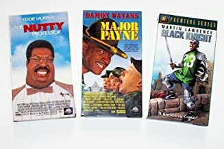 Comedy Video Collection (3pk): Major Payne; Black Knight; Nutty Professor