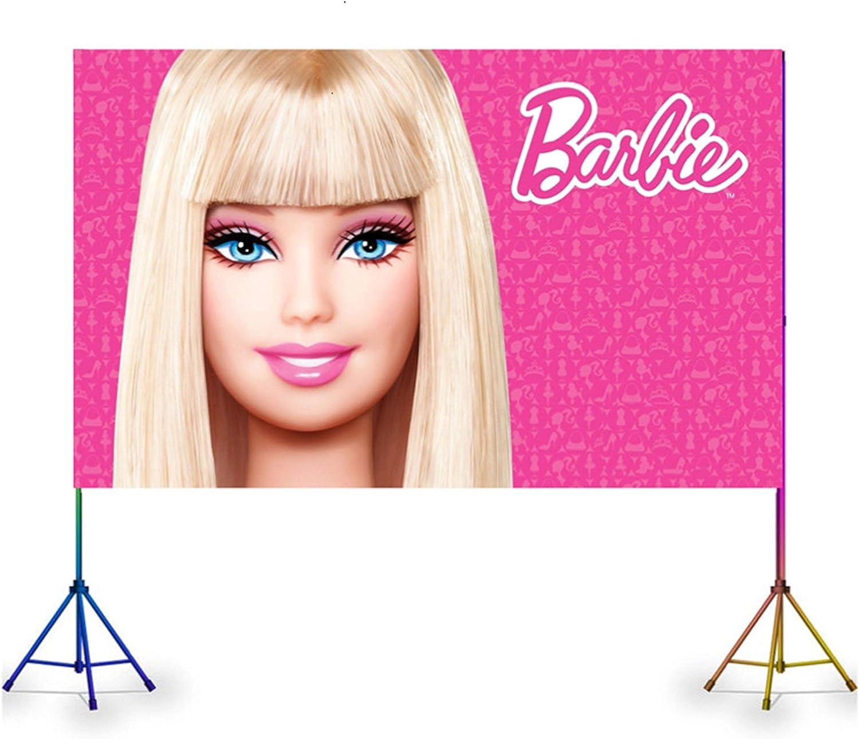 購入 VAK 価格交渉OK送料無料 BANNER COLOR:BARBI POSTER PINK BANN PRINCESS BARBIE