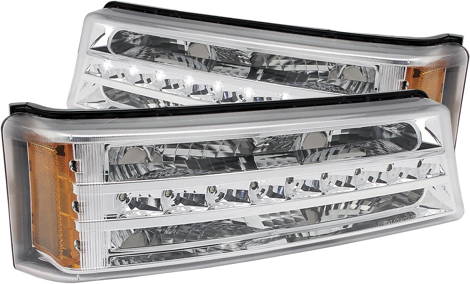 Anzo USA 511066 Chrome LED Silverado 25% OFF Signal Light 4 years warranty Chevy for