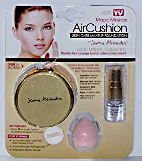Magic Minerals AirCushion Skin Care Makeup Liquid Mineral Foundation