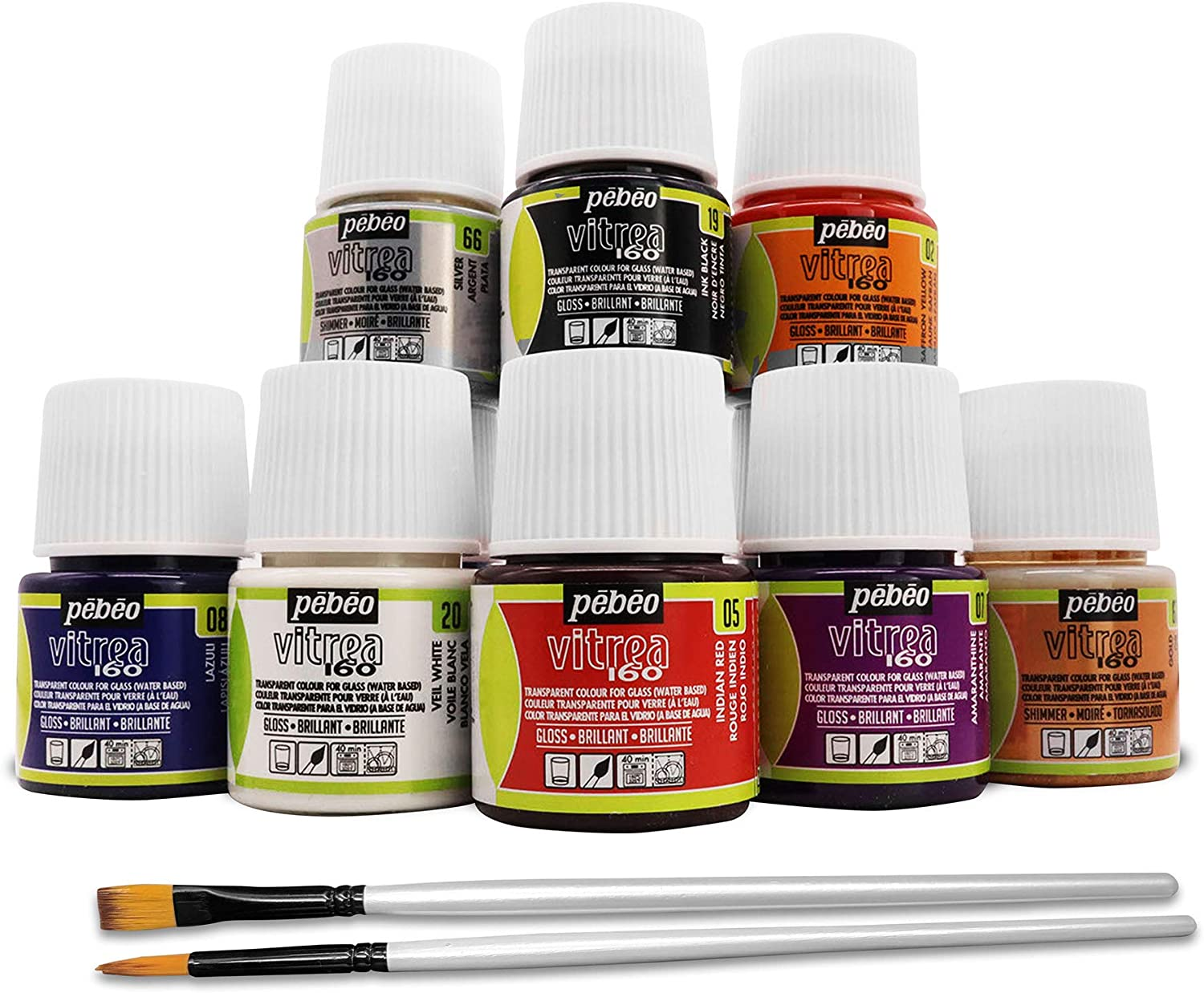 Pebeo Vitrea 160 Glass Paint Craft We Now free shipping OFFer at cheap prices Stained - for DIY