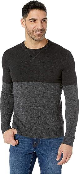 Sparwood Color Block Crew Sweater