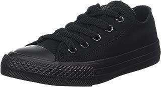 Converse Chuck Taylor Ct Ox Canvas, Unisex Kids' Fitness Shoes, Black (Black Monochrome 006), 2 UK (34 EU)