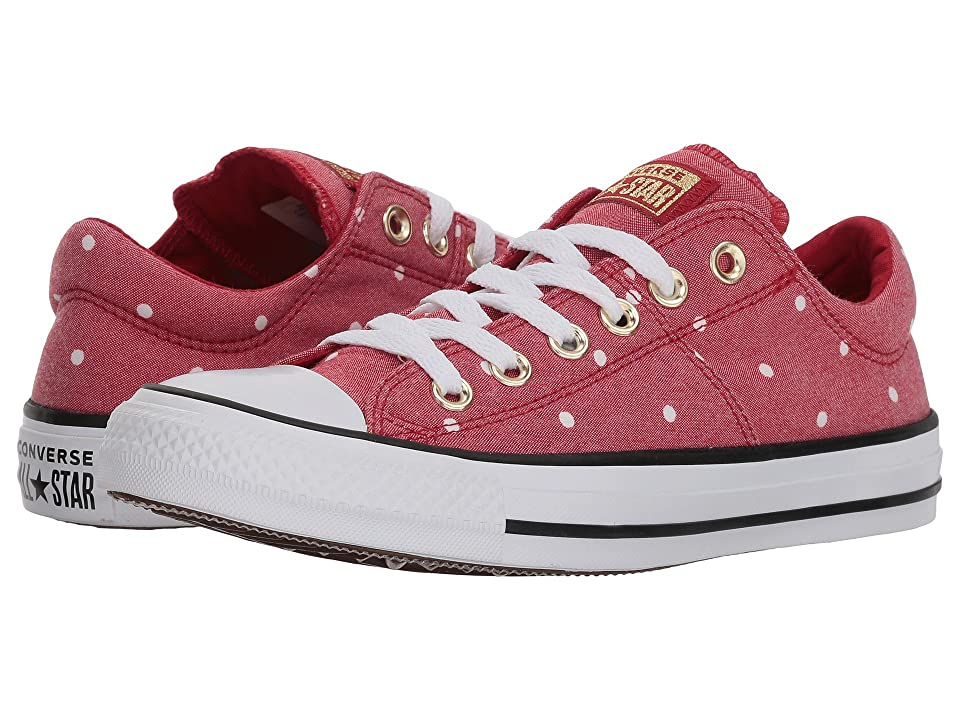 Converse Chuck Taylor(r) All Star(r) Madison Ox Mini Dots (Gym Red/Gold/White) Women